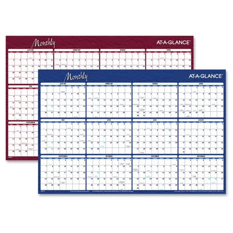 At-A-Glance At-A-Glance Reversible Monthly Planner A102 AAGA102