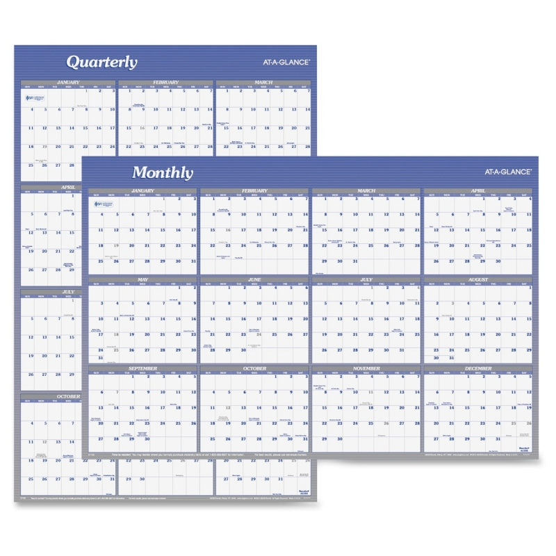 At-A-Glance At-A-Glance Reversible Two-Sided Planner A1102 AAGA1102