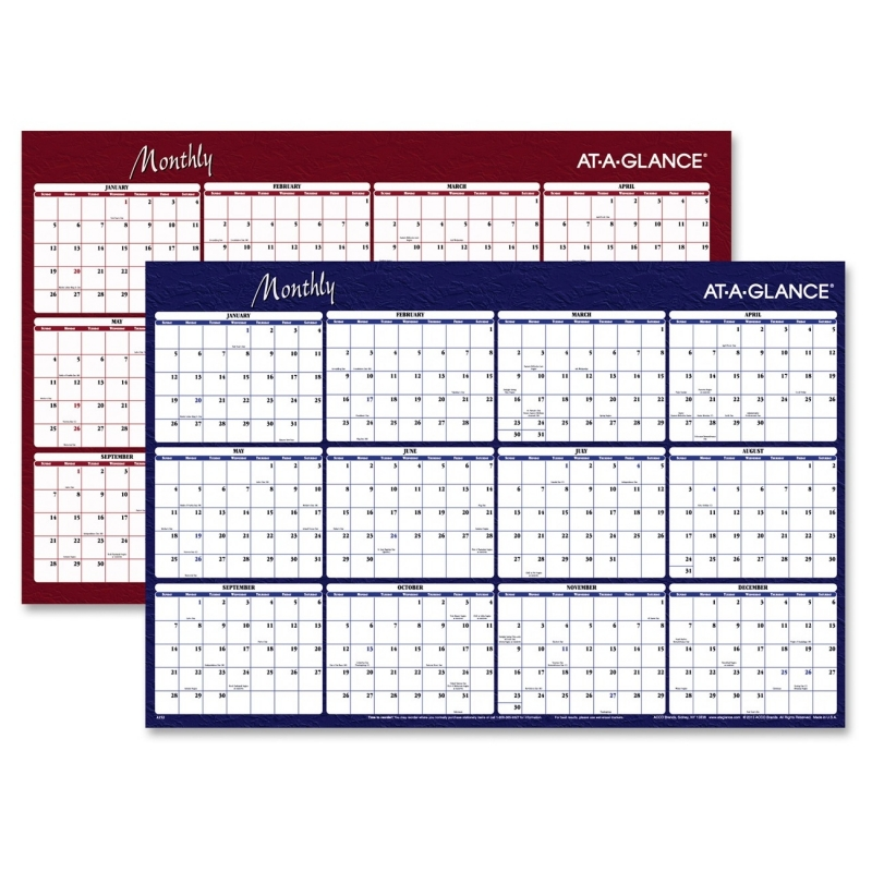 At-A-Glance At-A-Glance Reversible Monthly Planner A152 AAGA152