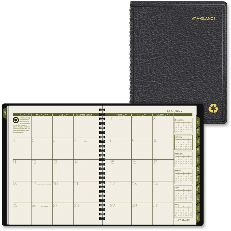 At-A-Glance At-A-Glance Classic Large Desk Planner 70-120G-05 AAG70120G05