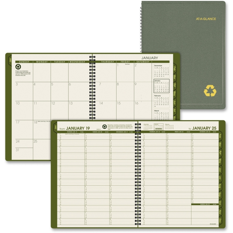 At-A-Glance At-A-Glance Professional Eco-friendly Appointment Book 70-950G-60 AAG70950G60