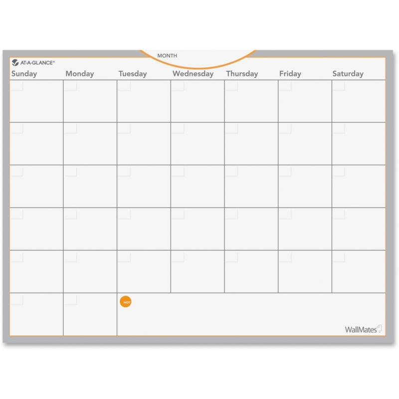 At-A-Glance At-A-Glance Wallmates Dry Erase Planning Surface AW502028 AAGAW502028