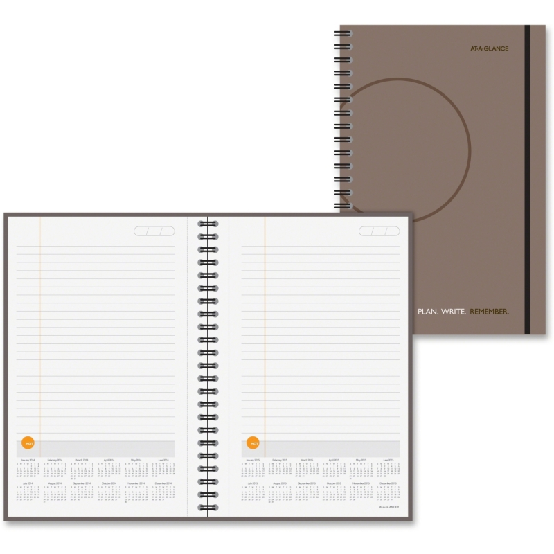 At-A-Glance At-A-Glance Undated Planning Notebook with Reference Calendar 70621030 AAG70621030