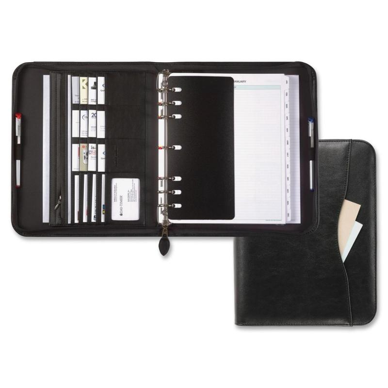 Day-Timer Day-Timer Avalon Zipper Starter Set Organizer 82831 DTM82831 D82831E