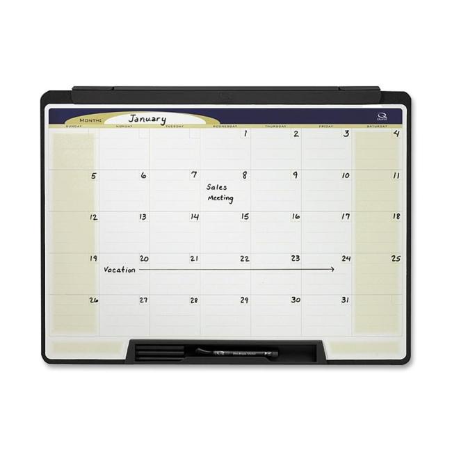 Quartet Quartet Cubicle Motion Dry Erase Calendar MMC25 QRTMMC25
