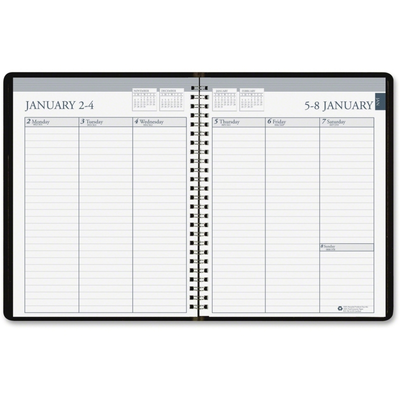 House of Doolittle Vertical Planner 258-02 HOD25802