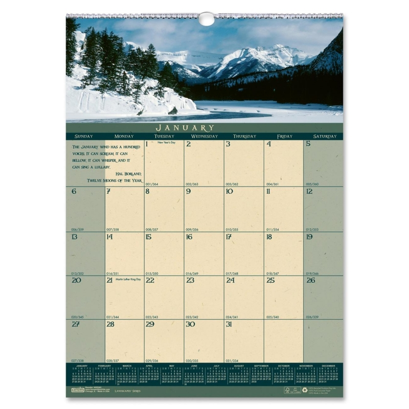 House of Doolittle Landscapes Wall Calendar 362 HOD362