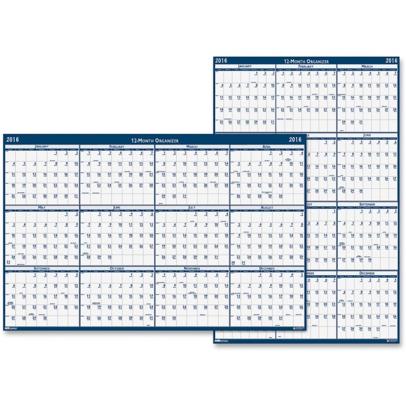 House of Doolittle Horizontal Wall Planner 3962 HOD3962