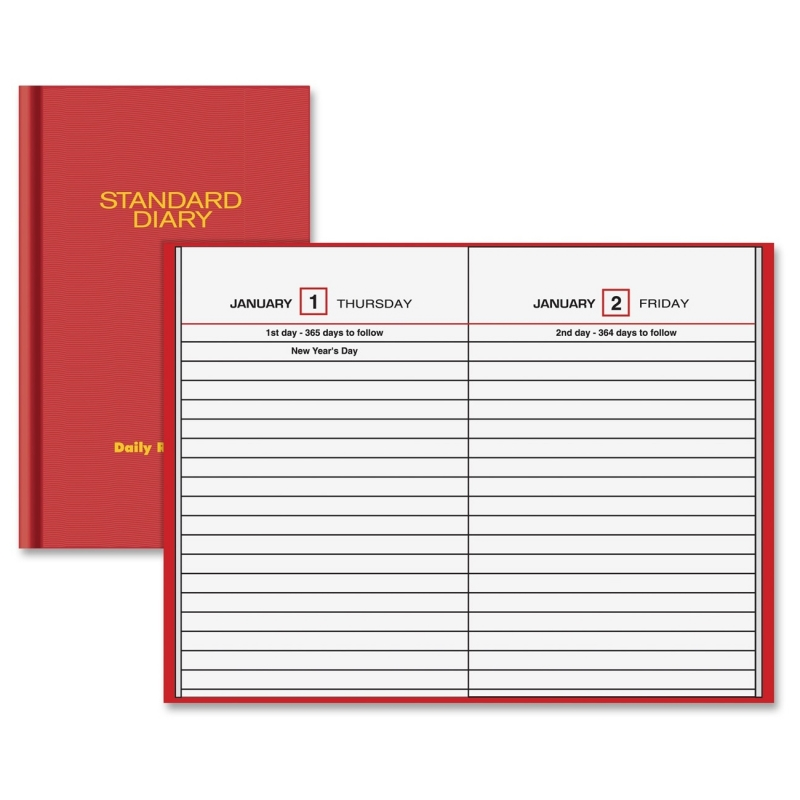 At-A-Glance At-A-Glance Standard Diary Daily Reminder Notebooks SD38513 AAGSD38513