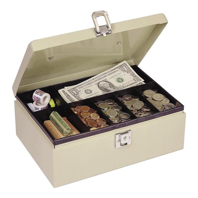 MMF MMF Cash Box with Latch Lock 221612003 MMF221612003