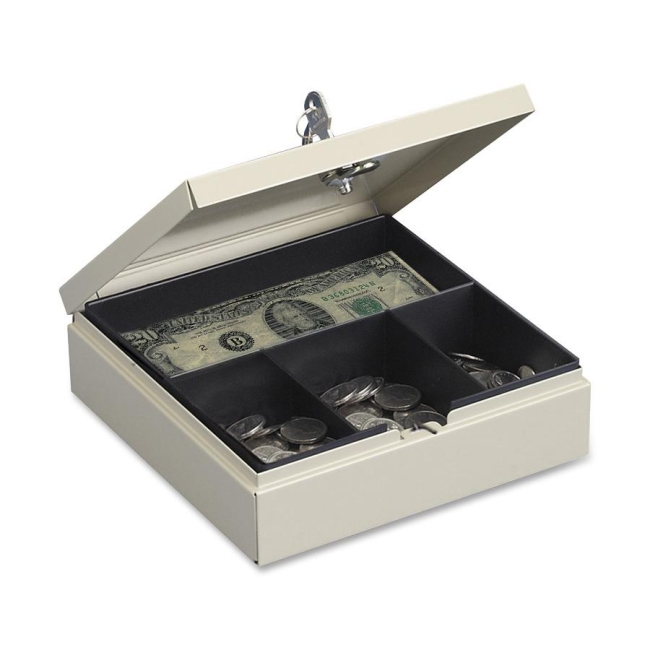 MMF MMF Drawer Safe Cash Box with Lock 227107003 MMF227107003