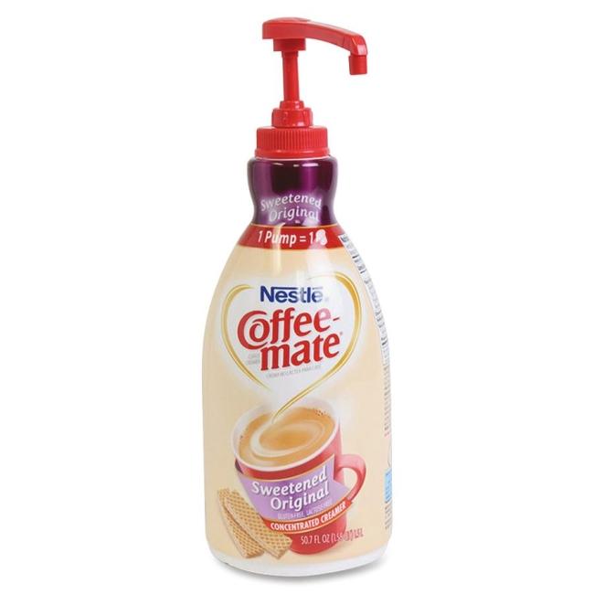 Nestle Professional Coffee-Mate Liquid Pump Bottle 13799 NES13799 00050000137992