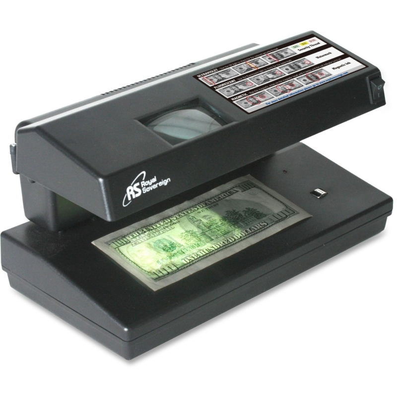 Royal Sovereign Royal Sovereign 4 Way Counterfeit Detector w/ UV, MG, IR and Microprint RCD-2000 RSIRCD2000
