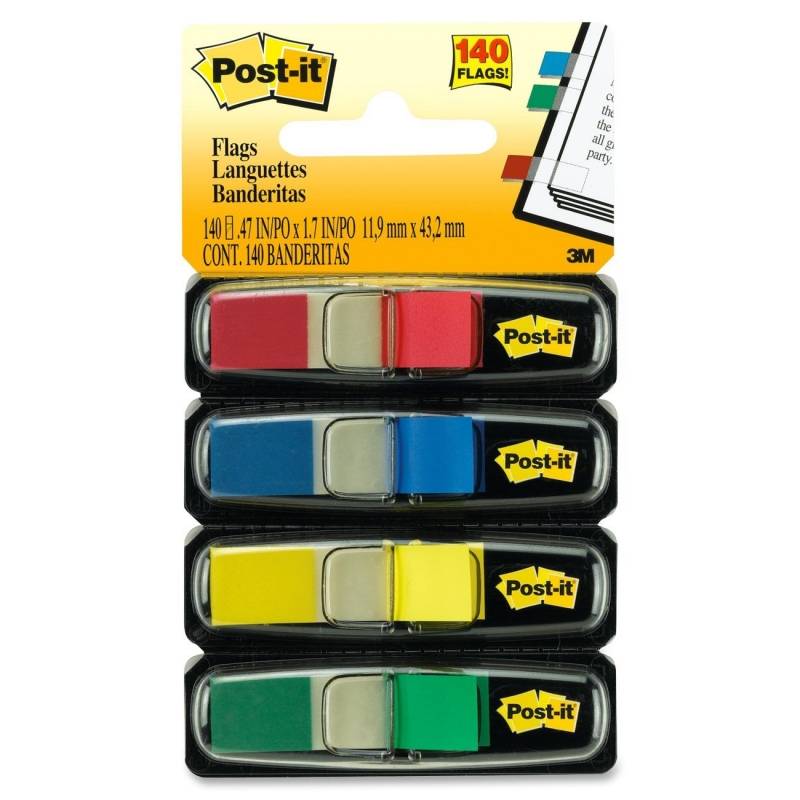 Post-it Post-it Colored Small Tape Flag 683-4 MMM6834