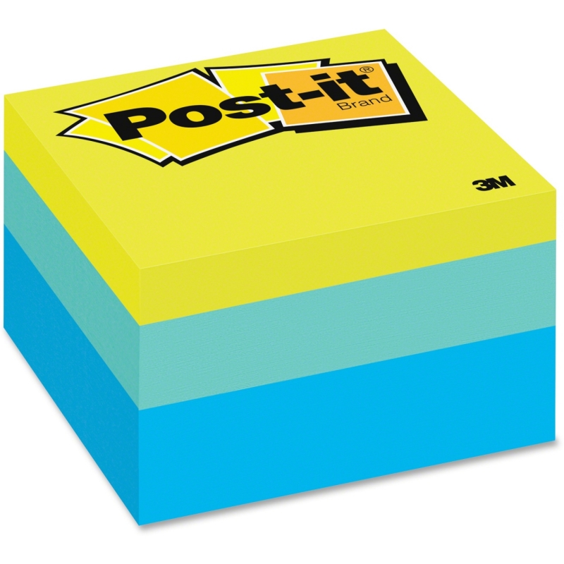 Post-it Post-it Blue Wave Note Cube 2056-RC MMM2056RC