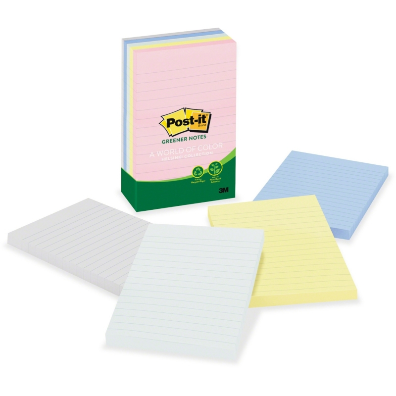 Post-it Post-it Helsinki Lined Notes 660-RP-A MMM660RPA