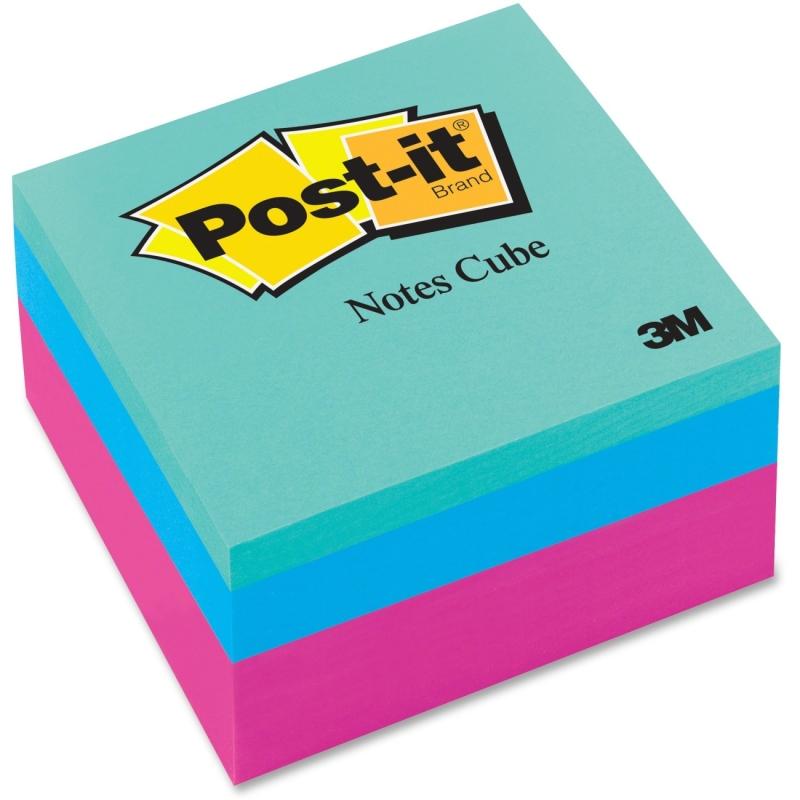 Post-it Post-it Pink Wave Convenient Memo Cubes 2027RCR MMM2027RCR