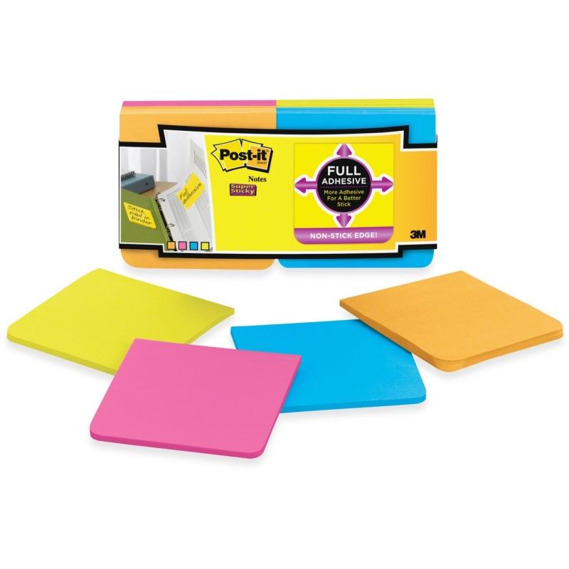 Post-it Post-it Super Sticky Full Adhesive Note F33012SSAU MMMF33012SSAU