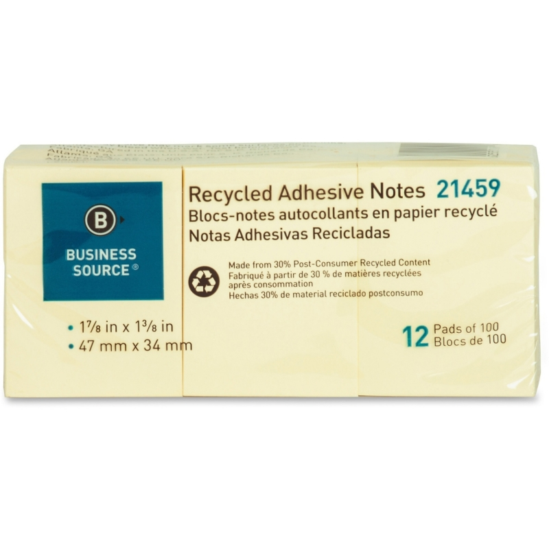 Business Source Adhesive Note 21459 BSN21459