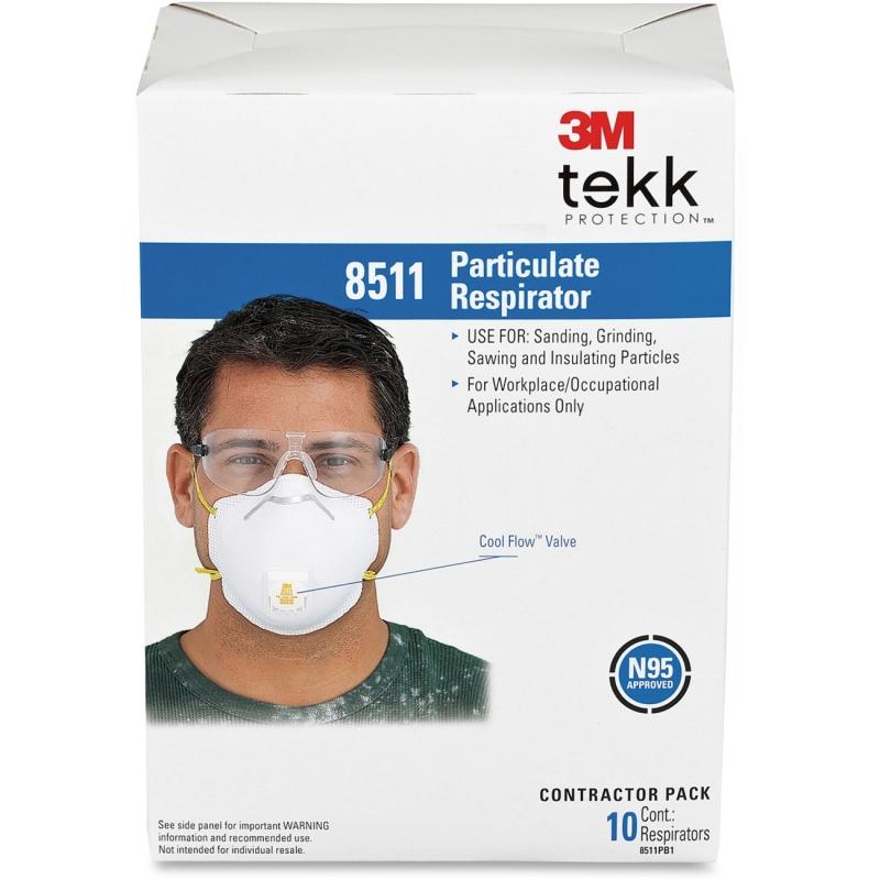 3M Particulate Respirator 8511PB1A MMM8511PB1A