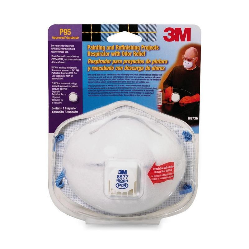 3M Odor Relief Respirator 8577PA1B MMM8577PA1B