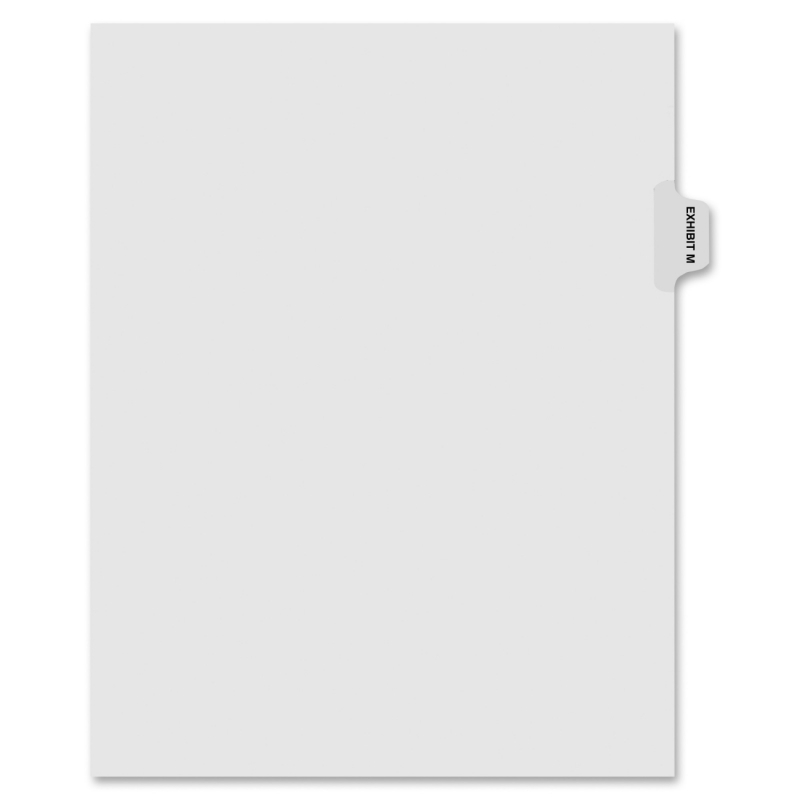 Kleer-Fax Kleer-Fax 90000 Series Side Tab Index Divider 91863 KLF91863