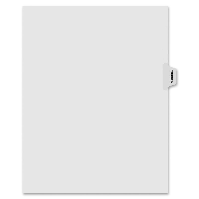 Kleer-Fax Kleer-Fax 90000 Series Side Tab Index Divider 91864 KLF91864