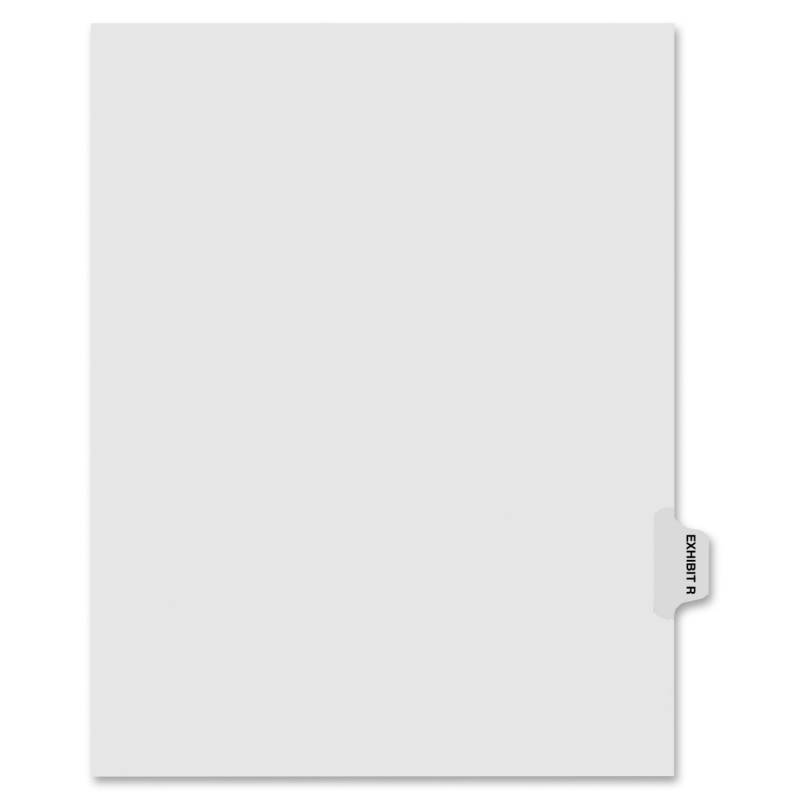 Kleer-Fax Kleer-Fax 90000 Series Alphabetical Side Tab Index Divider 91868 KLF91868