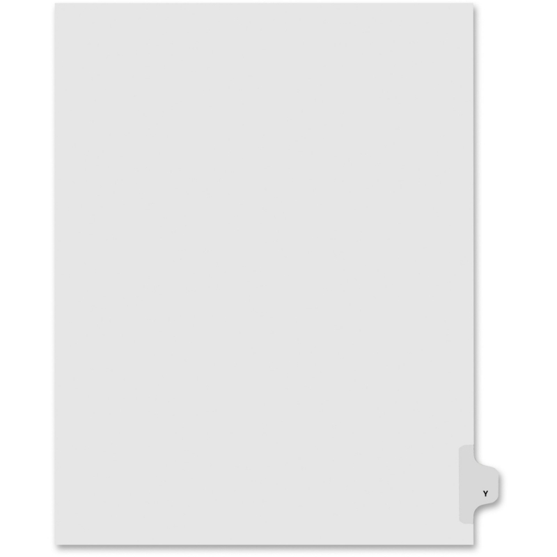 Kleer-Fax Kleer-Fax 80000 Series Legal Exhibit Index Divider 80025 KLF80025