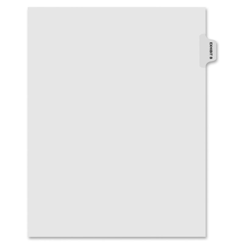 Kleer-Fax Kleer-Fax 90000 Series Side Tab Index Divider 91852 KLF91852