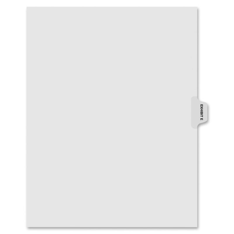 Kleer-Fax Kleer-Fax 90000 Series Side Tab Index Divider 91855 KLF91855