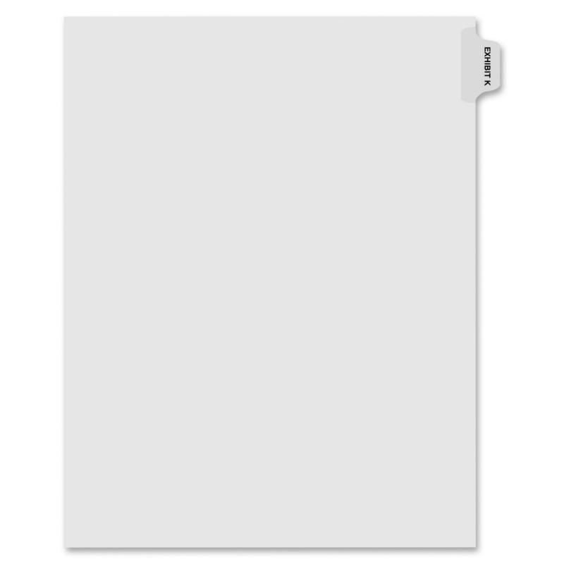 Kleer-Fax Kleer-Fax 90000 Series Side Tab Index Divider 91861 KLF91861