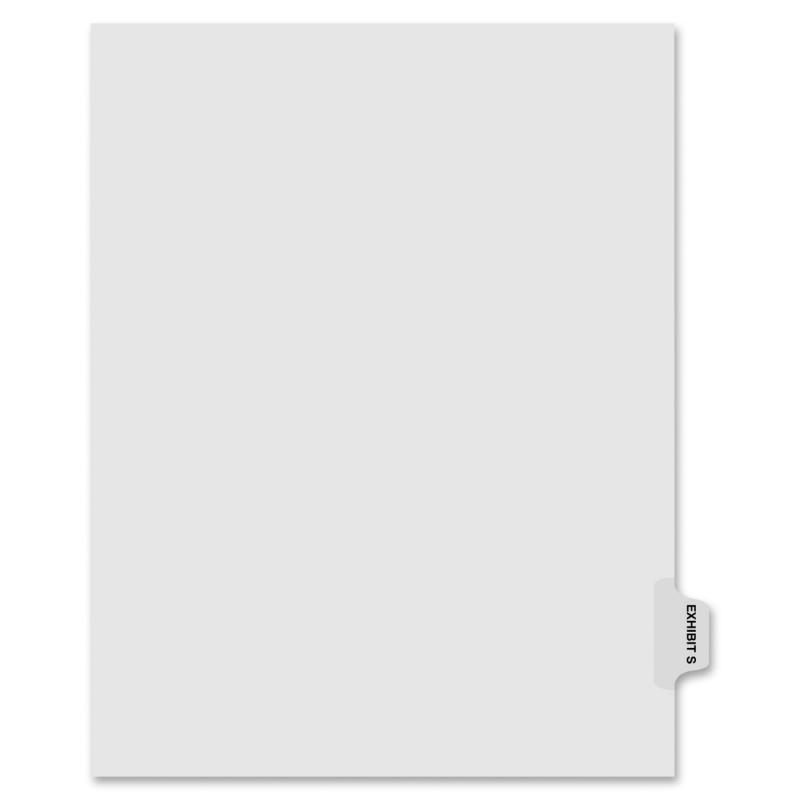 Kleer-Fax Kleer-Fax 90000 Series Side Tabs Index Divider 91869 KLF91869