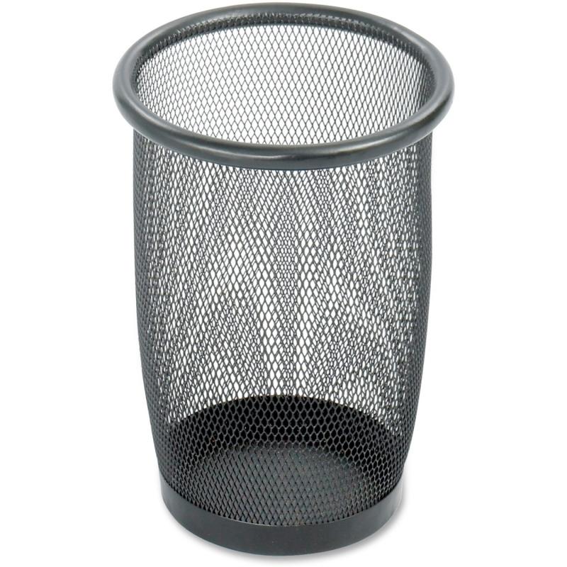 Safco Safco Round Mesh Wastebasket 9716BL SAF9716BL 9716