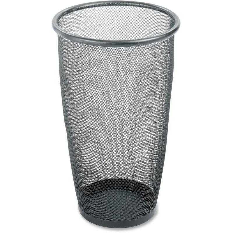 Safco Safco Round Mesh Wastebasket 9718BL SAF9718BL 9718