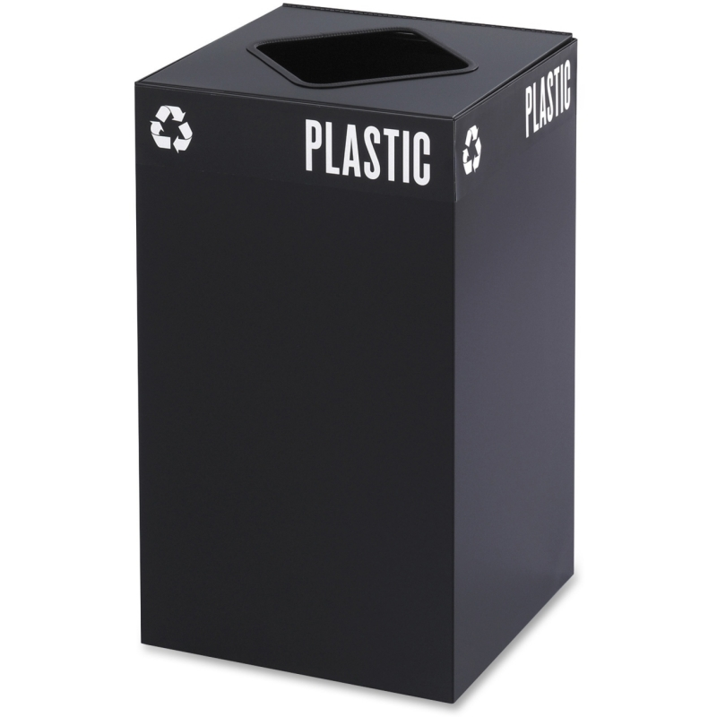 Safco Safco Public Square Recycling Receptacle 2981BL SAF2981BL