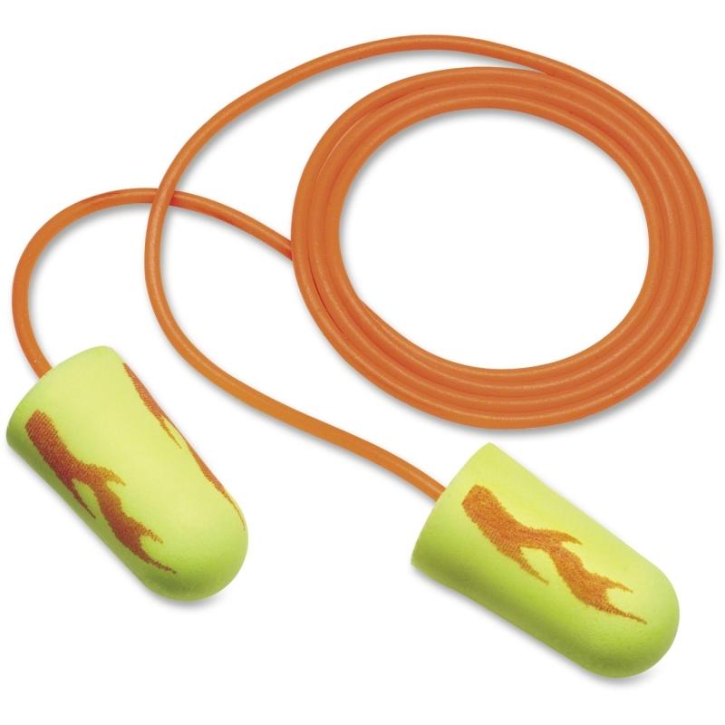 E-A-R E-A-RSoft Yellow Neon Blasts Earplugs 3111252 MMM3111252
