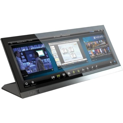 "AMX 19.4"" Modero X Series Panoramic Tabletop Touch Panel FG5968-02 MXT-1900L-PAN"