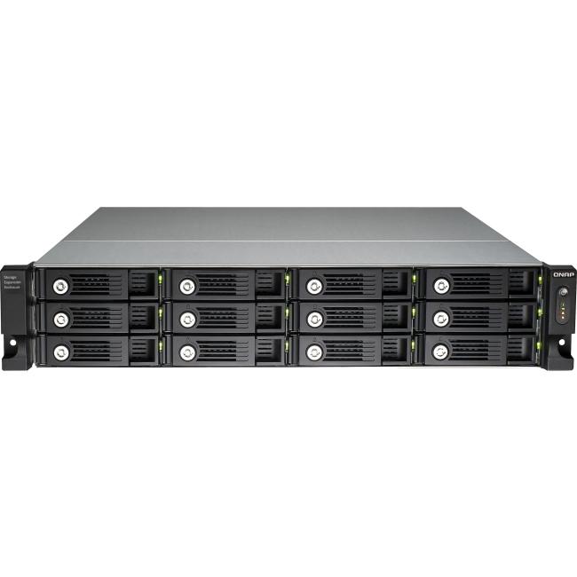 QNAP Drive Enclosure UX-1200U-RP-US UX-1200U-RP