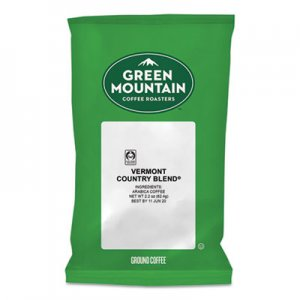 Green Mountain Coffee Vermont Country Blend Coffee Fraction Packs, 2.2oz, 100/Carton GMT4162 4162