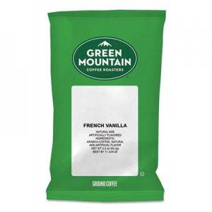 Green Mountain Coffee French Vanilla Coffee Fraction Packs, 2.2oz, 50/Carton GMT4732 4732