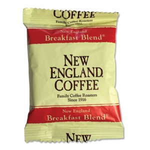 New England Coffee Coffee Portion Packs, Breakfast Blend, 2.5 oz Pack, 24/Box NCF026260 026260