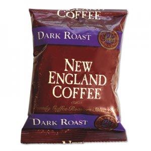 New England Coffee Coffee Portion Packs, French Dark Roast, 2.5 oz Pack, 24/Box NCF026190 026190