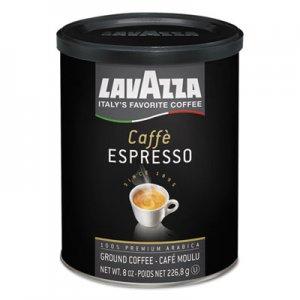 Lavazza Caffe Espresso Ground Coffee, Medium Roast, 8 oz Can LAV1450 1450