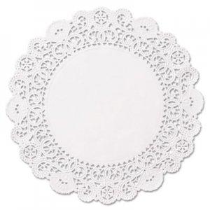 "Hoffmaster Brooklace Lace Doilies, Round, 6"", White, 2000/Carton HFMLA9062M LA906-2M"