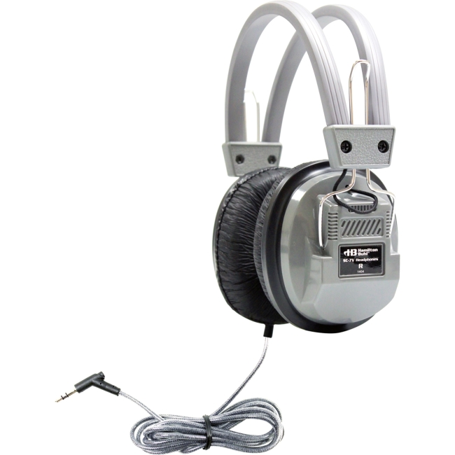 Hamilton Buhl SchoolMate Deluxe Stereo Headphone with 3.5mm and Volume SC-7V