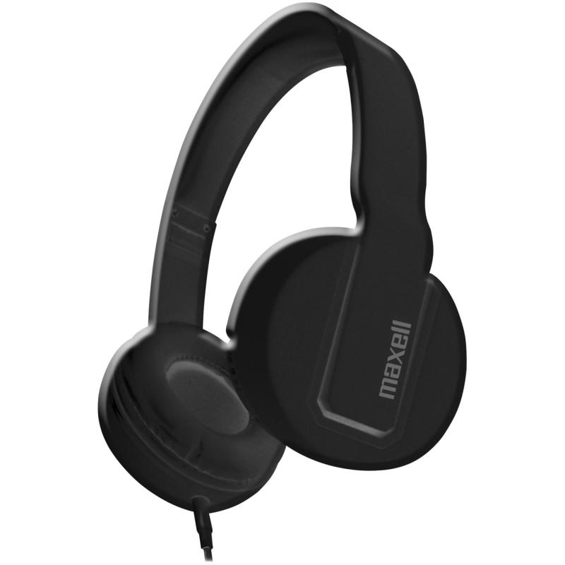 Maxell Solid 2 Black Headphones 290103 MAX290103