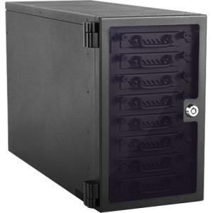 "RAIDage 8-bay 2.5"" SATA 6.0 Gb/s eSATA Hotswap Tower EAGE8402TG-ES"