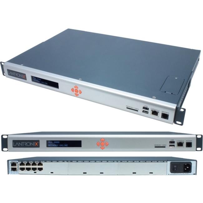 Lantronix SLC 8 - Port Advanced Console Manager, Single AC Power Supply, TAA SLC80081201G 8000