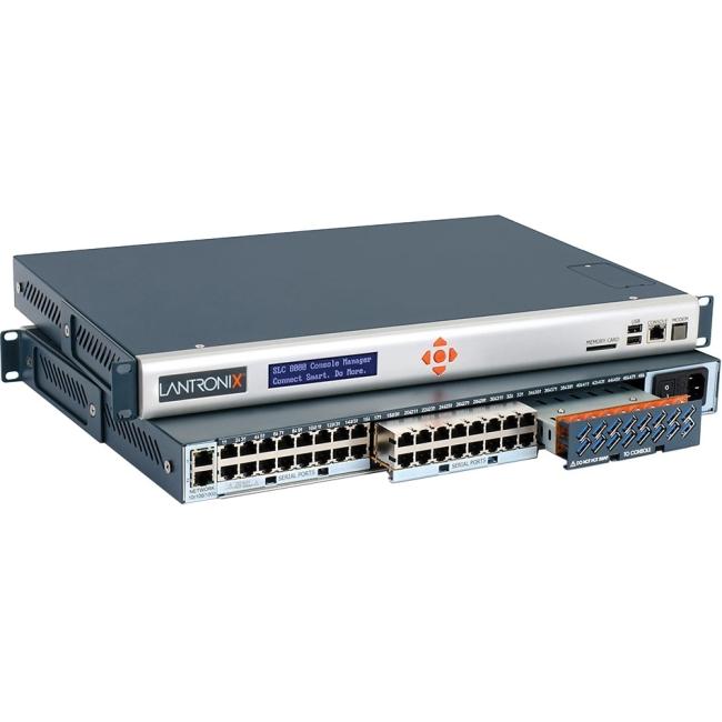 Lantronix SLC Advanced Console Manager - 32 Ports, Dual DC Supply SLC80322401S 8000
